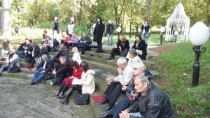 Autori z celého sveta verše čítali aj vo Vile Obrenović