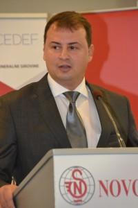 V mene hostiteľa prejav mal Slobodan Cvetković, generálny riaditeľ  Novosadského veľtrhu