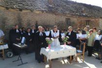 Posviacka nového evanjelického cirkevno–zborového domu v Dobanovciach