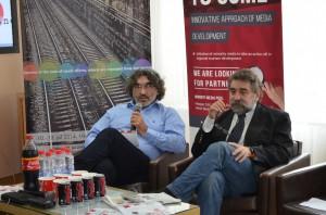Záber z vlaňajšej konferencie: Kalman Kuntić a Zoran Sekulić (Foto: Jasmina Pániková)