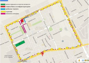Veľké kolo sa bude pohybovať týmito ulicami