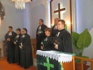 Zo včerajších služieb Božích v Slankamenských Vinohradoch