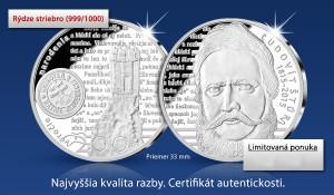 strieborna-pamatna-medaila-ludovit-stur-banner