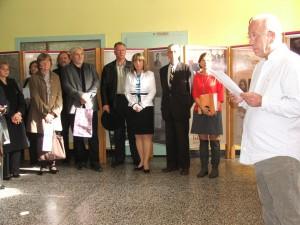 Výstavu otvoril Mgr. Pavol Máťuš