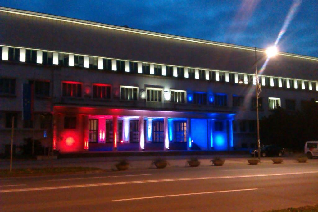 Pokrajinská vláda v Novom Sade (Foto: Oradio)