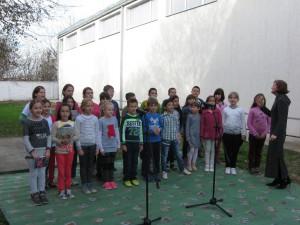 V programe sa zúčastnili aj žiaci mladších slovenských ročníkov