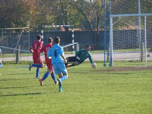 Prvým gólom v 28. min. Zorzić otvoril skóre zápasu Tatra – Borac 10 : 0
