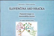 Slovenčina ako hračka – Pojmové mapy zo slovenského jazyka