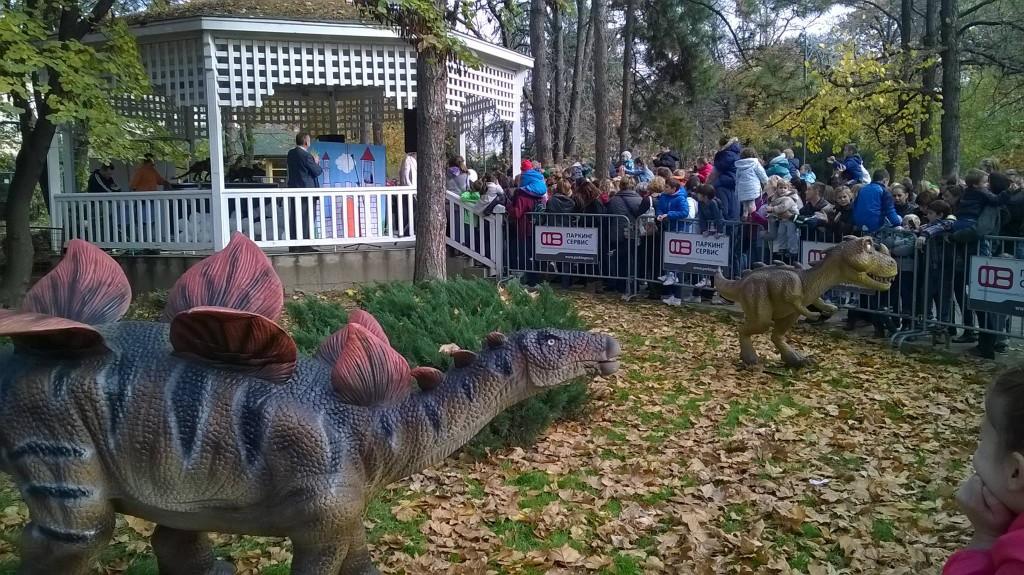 Dinosauri fotokom Ljubice Vujanićovej