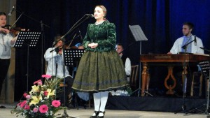 Katarína Kalmárová z Vojlovice − laureátka festivalu