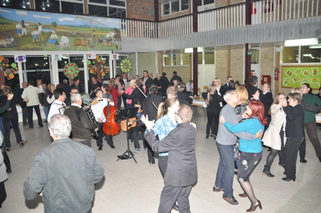 Po koncerte spoločná zábava pre 160 zboristov