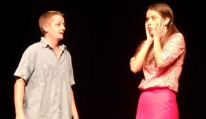 Záber z predstavenia