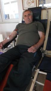 Daňo Belička stokrát daroval krv
