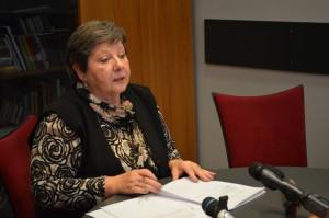 Predsedníčka Výkonnej rady NRSNM Katarína Melegová-Melichová