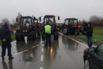 Protestná jazda vojvodinských poľnohospodárov