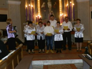 Cirkevný spevokol z Višnjićeva na stretnutí v Starej Pazove