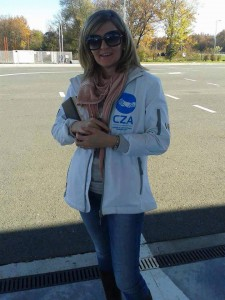 Anna Đurićová pripravená pomáhať utečencom v núdzi