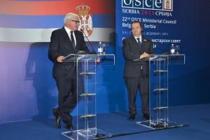 Z tlačovky Dačić – Steinmeier