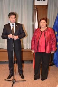 Vysoký hosť, podpredseda vlády Miroslav Lajčák