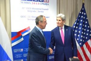Začiatok stretnutia Lavrov - Kerry