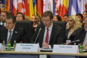 Premiér Aleksandar Vučić