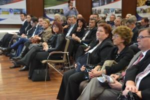 Účastníci hospodárskeho fóra v Belehrade
