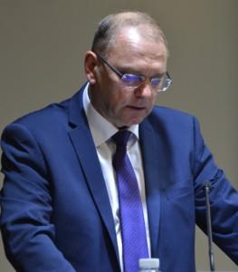 Podpredseda vlády Slovenska Ľubomír Vážny