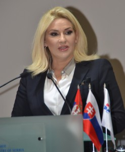 Podpredsedníčka vlády Srbska Zorana Mihajlovićová