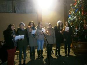 Zaspievali si aj mládežníci