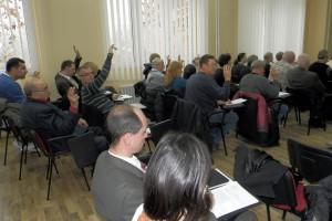 Dobrá hodina aktívnej práce stačila výborníkom ZO na všetky body rokovacieho programu