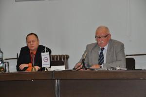 Úvodné postrehy na tribúne predostreli M. Spevák (vľavo) a Z. Šimák