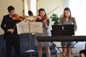 Hudobné trio spestrilo náladu