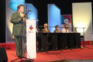 O poslaní a význame televíznych programov hovorila Katarína Melegová-Melichová