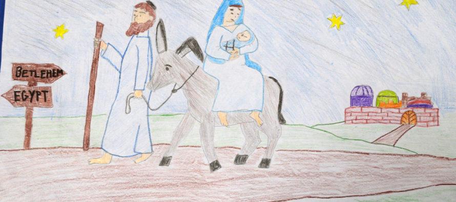 Vianočné ilustrované rozprávky a básne