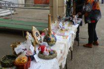 Predajná výstava suvenírov a novoročných ozdôb v Starej Pazove