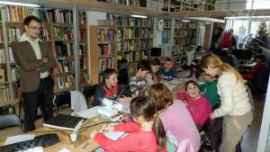Škola snov pre súčasných najmladších čitateľov kovačickej knižnice