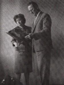 Anna Makanová s prvým šéfredaktorom slovenskej redakcie Rádia Nový Sad