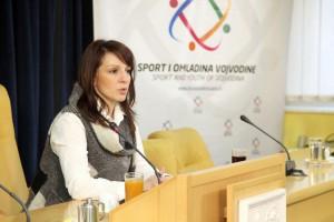 Pokrajinská tajomníčka pre šport a mládež Marinika Tepićová