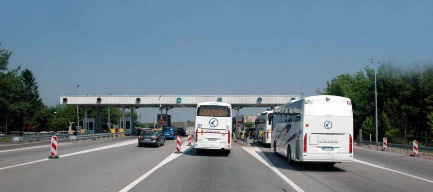 Diaľničný poplatok z Nového Sadu do Belehradu – 210 din