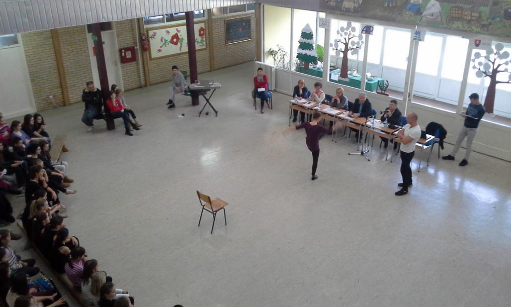 Mladým talentom dali šancu dokázať sa aj v Petrovci (foto J. Čiep)