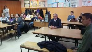 Prítomní si pozorne vypočuli prednášku Mgr Maríny Hríbovej