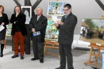 KOVAČICA: Vystavené obrazy Zuzany Chalupovej a Zuzky Medveďovej