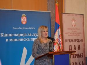 Suzana Paunovićová, riaditeľka Kancelárie pre ľudské a menšinové práva