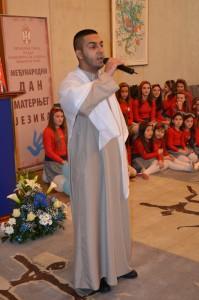 Predstaviteľ egyptskej národnostnej menšiny