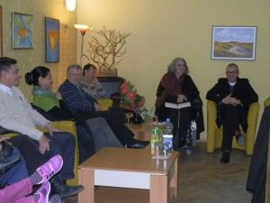 Momentka zo stretnutia v Starej Pazove (Foto: A. Lešťanová)
