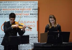Hudobné dueto Emilija Kovačevová a Juraj Súdi