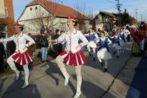 Maškarný bál a uličný karneval v Golubinaciach