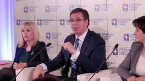 Vláda Srbska vo svojich strategických dokladoch osobitnú pozornosť venovala ženskénu podnikateľstvu a predpovedala podnecujúce opatrenia a programy. (Na snímke momentka z okrúhleho stola v Kovačici)