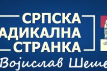 Srbská radikálna strana odovzdala listinu v Novom Sade