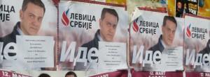 Plagáty ako súčasť predvolebného ovzdušia